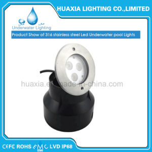 9W Stainless Stee Swimming Pool Underwater Light pictures & photos