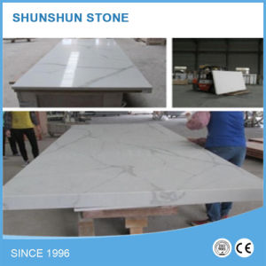 Wholesale White Quartz Kitchen Island/Countertop and Bench Top pictures & photos
