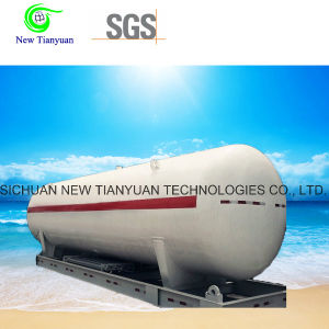 MID-Pressure CNG Medium Gas Cylinder Tank Container Trailer pictures & photos