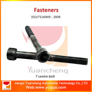 China Manufacturer Hot Forging 45# / 40cr Spring Center Bolt pictures & photos