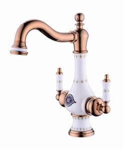New Design Ceramic Antique Basin Faucet (Zf-606-1) pictures & photos