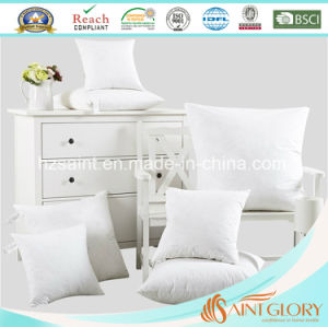 Classic 5% White Duck Down Cushion Inner Hotel Cushion pictures & photos
