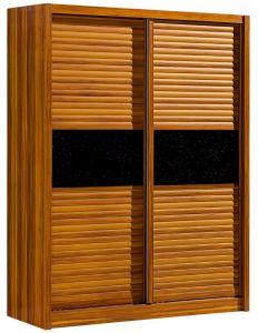2 Sliding Door Wardrobe Wood Wardrobe Bedroom Wardrobe pictures & photos