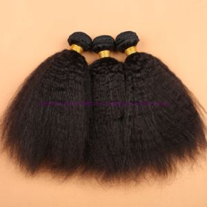 8A Indian Virgin Hair Kinky Straight with Silk Base Closure Silk Base Closures with Bundles pictures & photos