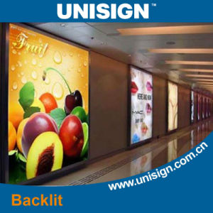 Light Box Backlit Fabric Textile for Solvent Printing pictures & photos