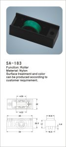 Nylon Window Roller/ Hardware Accessories for Window (SA-183) pictures & photos