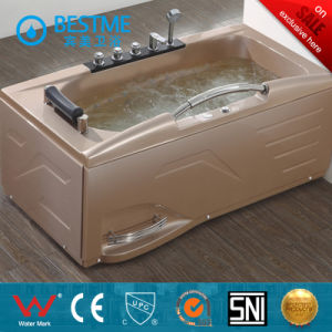 Rectangle Shape Massage Bathtub with Pillow (BT-A608) pictures & photos
