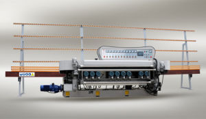 10 Motors Glass Straight Line Beveling Machine pictures & photos