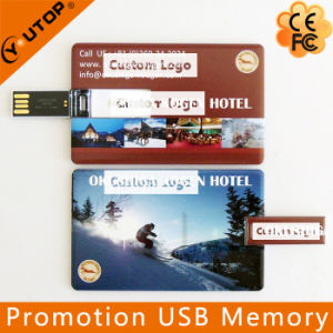 Hotel Custom Promotional Gift Card USB Flash Memory (YT-3101) pictures & photos