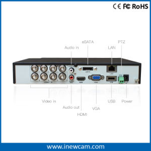 Standalone 8CH 3MP/2MP CCTV HVR pictures & photos