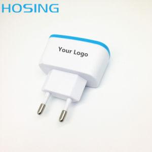 5V 2.1A EU/Us/UK Plug Dual USB Charger pictures & photos