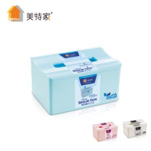 6701 Metka Household Middle Plastic Adjustable Tissue Box pictures & photos