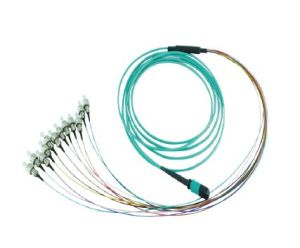 Optical Fiber Cable MPO for High Density Rack pictures & photos