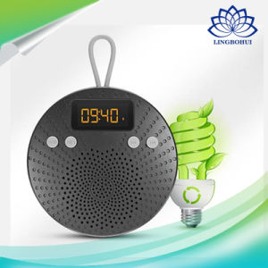 H1 Ipx5 LED Shower Mini Speaker with Alarm Clock pictures & photos