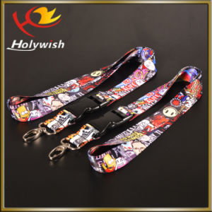 Wholesale Custom Printed Popular Style Strap NFL Lanyard with Text pictures & photos