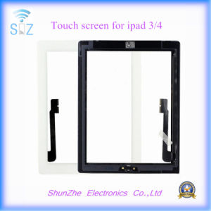 Smart Pad Front Glass Touch Screen Digitizer for iPad 3/4 Spare Part pictures & photos
