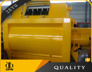 Js2000 Zeyu Small Twin-Shaft Concrete Mixer Hot Sales! pictures & photos