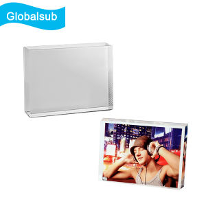 Wholesale Blank Crystal for Sublimation Printing T-Screen Horizonal pictures & photos