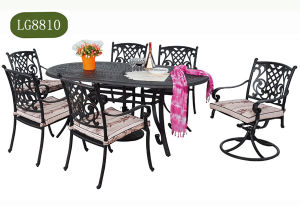 Wicker Garden Dining Table with Chair pictures & photos