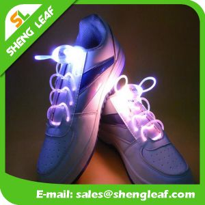 Competitive Price Flashing Nylon Dancing LED Shoelace (SLF-NS015) pictures & photos