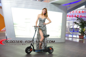500W 2wheel Lithium Battery Electric Scooter with Brushless Motor pictures & photos