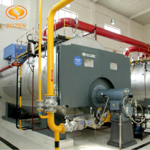 Horizontal Oil Fired Water Heater with Low Emission