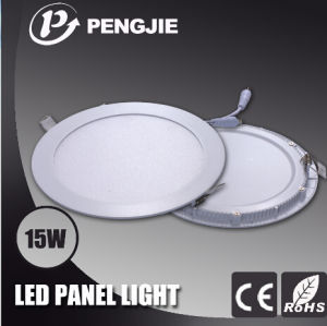 High Power 15W Indoor LED Panel Light with CE (Round) pictures & photos