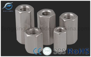 Stainless Steel/Carbon Steel Hex Coupling Long Nut pictures & photos