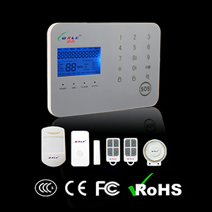 Wireless GSM and PSTN Standard Package Security Alarm System. pictures & photos