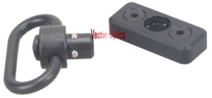 Vector Optics Steel Quick Detachable Keymod Handguard Picatinny Rail Mount Qd Sling Swivel with Loop Attachment Push Button Sling Holder Gun Accessories pictures & photos
