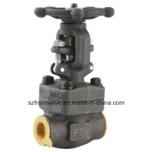 Forged Steel Screwed or Sw Gate Valve pictures & photos