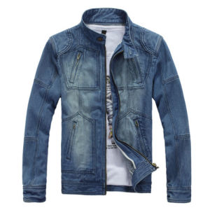 Casual Denim Outerwear New Men′s Classic Jeans Jacket