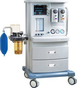 The Hospital Equipment Anesthesia Machine with Patient Monitor for Optional Jinling-850 pictures & photos