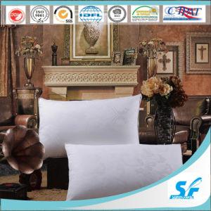 Jacquard Cotton Fabric Microfiber Filled Pillow pictures & photos