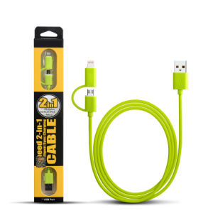 2 In1 Lightning Micro USB Cable pictures & photos