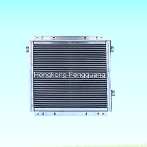 Air Compressor Parts Radiator Water Fan Oil Cooler Heat Exchanger pictures & photos