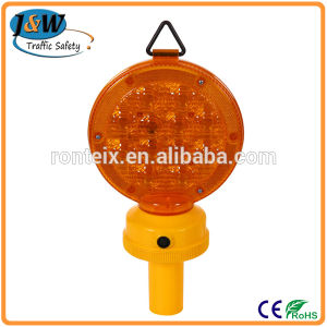 Road Barricade Traffic Safety Products Solar Warning Flashing Light pictures & photos