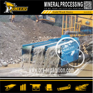 Alluvial Gold Mining Separation Machine Sand Ore Gold Washing Sluice