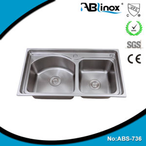 Abl Kitchen Ware Stainless Steel Handmade Kitchenware Sink pictures & photos