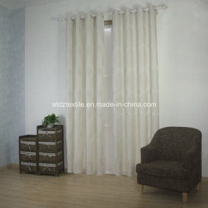 Modern New Polyester Jacquard Curtain Fabric pictures & photos