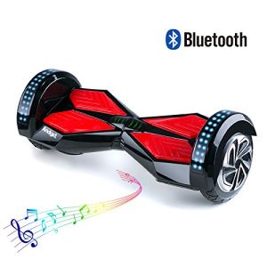 8 Inch Tires Electric Scooter with Bluetooth and LED Hoverboard pictures & photos