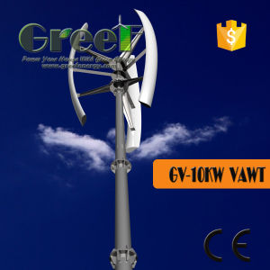 10kw China Vertical Axis Wind Turbine off-Grid/on-Grid for Home pictures & photos