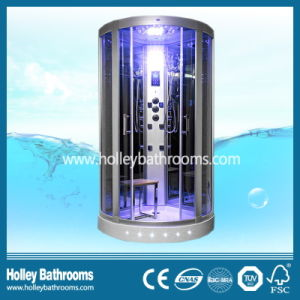 Excellent Tempered Clear Door Glass Shower Cabin with Seat (SR117N) pictures & photos