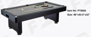 8′ High End Ball Return System Pool Table (PT8002) pictures & photos