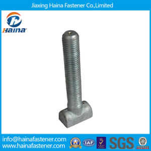 High Quality Grade 10.9 Galvanized Carbon Steel T Type Bolt pictures & photos