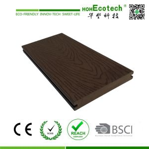 Wood Plastic Composite Decking for Outdoor (146S21-A) pictures & photos