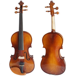 Musical Instrument Saga Finish Student Violin Outfit for Sale pictures & photos