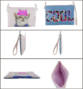 Cool Cat Cute Fashion PU Cross Body Bag pictures & photos