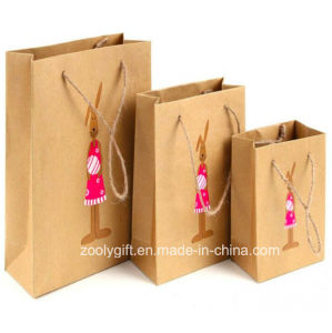 Custom Design Printing Kraft Paper Bag Manufacturers pictures & photos