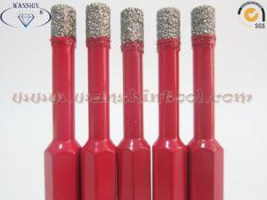 Vacuum Brazed Drill Bit for Grantie Ceramic pictures & photos